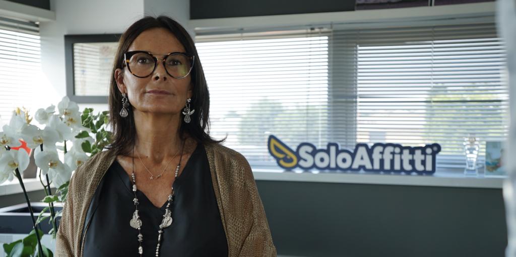 Nella foto Silvia Spronelli, CEO di SoloAffitti